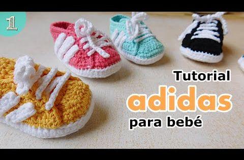 Crochet Tutorial Zapatitos Bebe : Como tejer zapatitos botitas escarpines bebE crochet, ganchillo ...