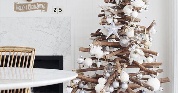 DIY Christmas tree - Rustic Christmas