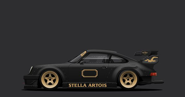 12 rwb stella artois cars pinterest stella artois porsche and posters. Black Bedroom Furniture Sets. Home Design Ideas