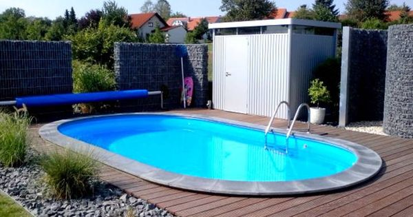 swimmingpool im garten: 6 budgetfreundliche ideen | swimming pools, Terrassen ideen