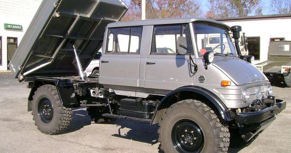 Unimog Doka Tipper Unimog Mercedes Benz Trucks Unimog For Sale