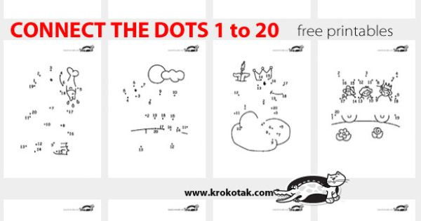 CONNECT THE DOTS 1 To 20