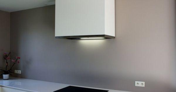 Afzuigkap in een strakke koof keuken pinterest afzuigkap keuken en keukens - Onderwerp deco design keuken ...