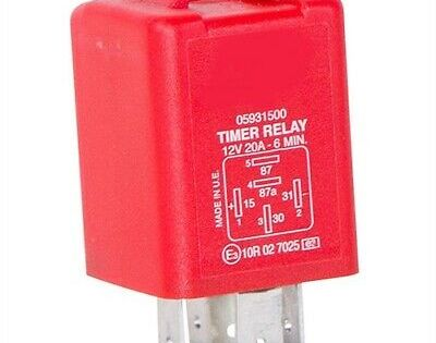 Flaming River Fr1055 6 Minute Delay Off Timer Relay Required For 6 Minute Time D Ebay In 2020 Timer Relay Delayed