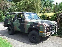 M1009 K5 Chevy Blazer K5 Blazer Chevrolet Chevrolet Blazer