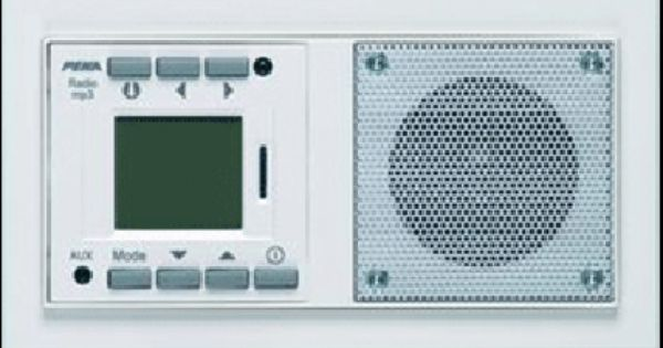 peha inbouwradio rds + mp3 audiopoint | badkamer radio kits, Badkamer