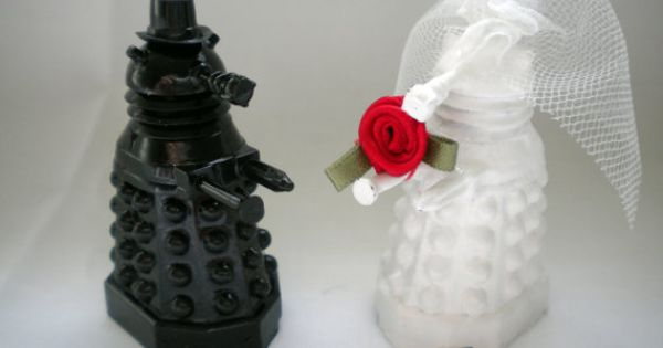 #Dalek wedding cake toppers. DoctorWho