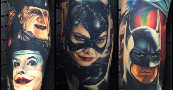 Awesome tattoos!!!! Real art