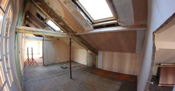 Rénovation maison  futur dressing avec décloisonnage, pose de velux