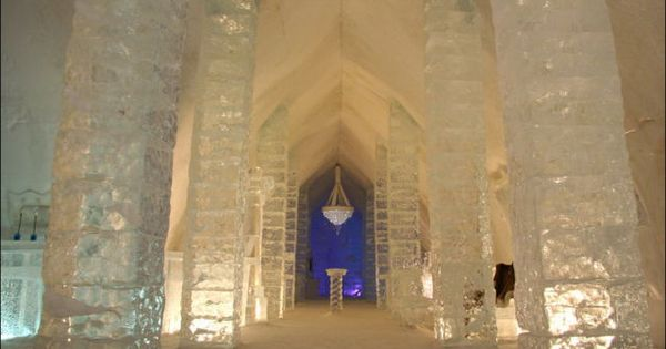 "Image detail for -You can post this "" Quebec Ice Hotel ""Hôtel"