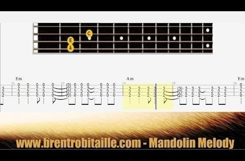 Mandolin Tab - Chords - Losing My Religion - Play Along - How to Play, Lesson, Tutorial : sheet ...