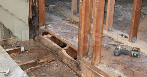 How To Replace A Rotted Rim Joist And Sill Plates Part 1 Of 4 Home Maintenance Home Repair Home Repairs