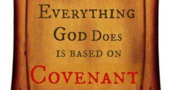 Covenant precept study