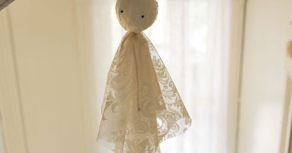 Super Easy Ghost Decorations   halloween   Pinterest   Ghost decoration, Super easy and Decoration