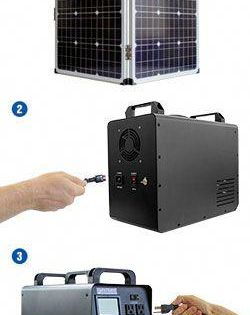 Get Real Peace Of Mind With The Patriot Power Generator Basic Package Get The Best Small Solar Generator On The M In 2020 Solar Energy Best Solar Panels Solar Heating