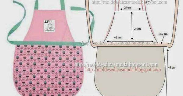 pasarela delantal vintage diyTema 98 - Patrn y costura
