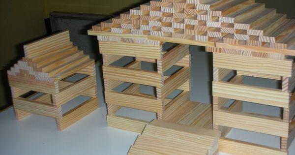 Maison 2 mod les kapla pinterest construction dit for Modele maison lego