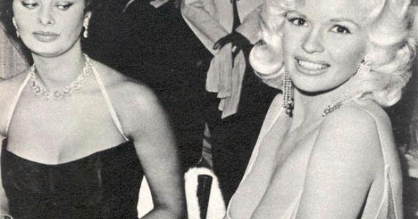 Queen of Side Eye Sophia Loren, but Mariska Hargitay's mommy don't care!