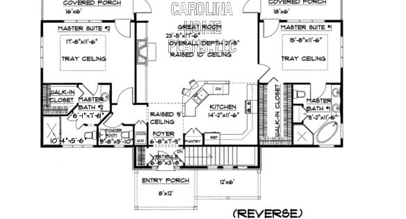 Small Craftsman Bungalow House Plan Chp Sg 1596 Aa Sq Ft