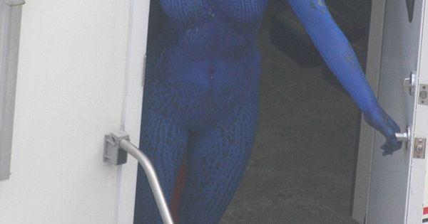 Mystique Jennifer Lawrence Full Body Jennifer Lawrence tuck...
