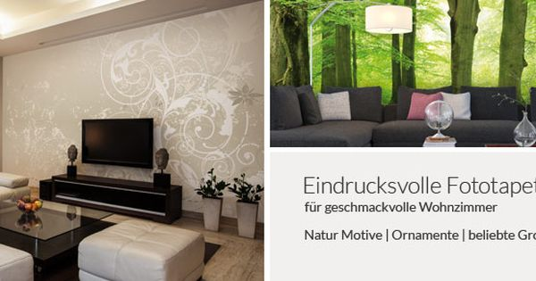 billig tapeten für wohnzimmer | deutsche deko | pinterest