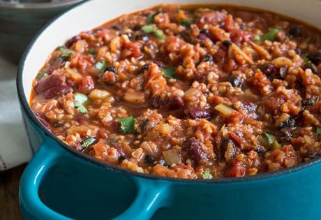21 Meals With Tons Of Protein And No Meat: Vegan Chili. Lot