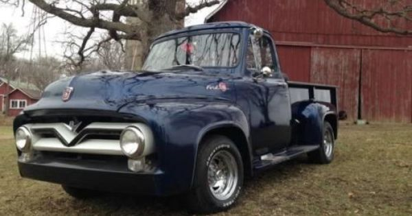 1955 Ford F100 Long Bed For Sale Mn 21 500 Beds For Sale