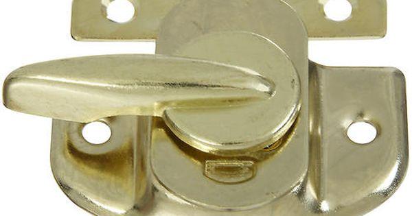 N193 607 602 Tight Seal Sash Locks In Brass 2 46 Menards