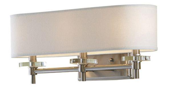 Portfolio 3 Light 22 In Brushed Nickel Bowl Vanity Light: $69 Half Bath? Allen + Roth 3-Light Brushed Nickel
