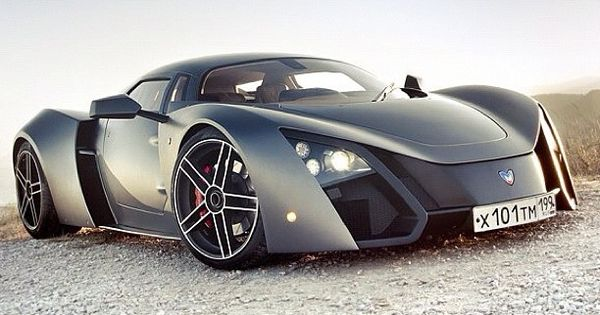 ♥ MARUSSIA Russian Supercar ♥