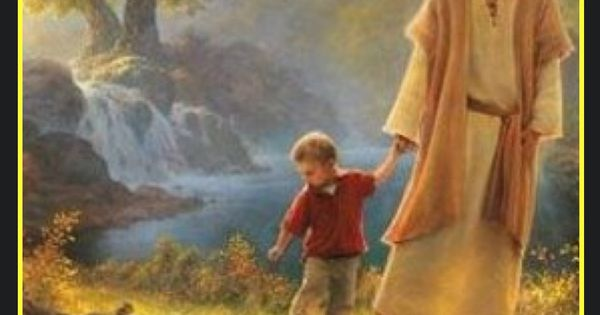 10 Beautiful Depictions of Jesus with His Children ...