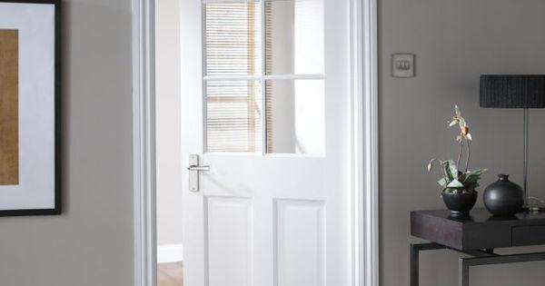Interior glass door clear office pinterest for Upvc french doors homebase
