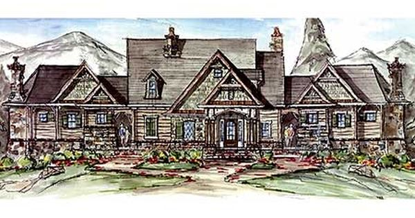 Plan 15870ge family compound or couples retreat for Compound house plans