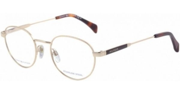 Oculos De Grau Tommy Hilfiger 1309 Dourado Oculos De Grau Tommy