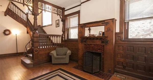 C 1892 Victorian Staircase Victorian Homes Victorian Interiors Victorian Interior