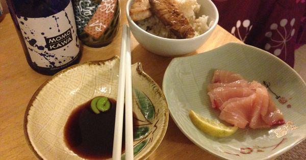 Nairagi striped marlin two ways sashimi and lightly for Marlin fish recipes