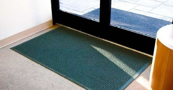 Floorguard Eco Environmentally Responsible Entry Mats 4 X 6 Green With Fabric Border By Doormats More 79 00 Made From 99 9 Post Consumer Recycled