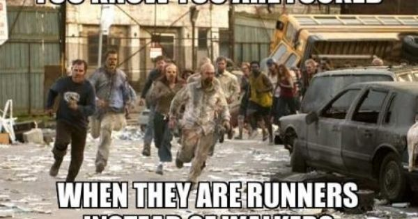 Lol Im Ok With Fast Moving Zombies Changes The Game Just Like