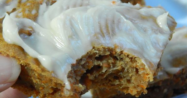 Carrot Cake Bars With Cream Cheese Icing By Drizzle Me
