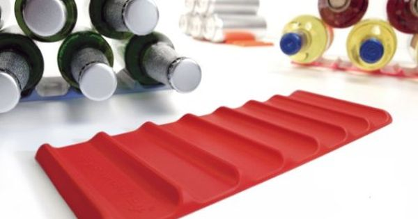 Cooks Innovations Fridge Monkey Red Bottle Stacking Mat Can Stacker Organize Space In Your Fridge And Pantry Gifts For Beer Lovers Beer Storage Beer Fridge