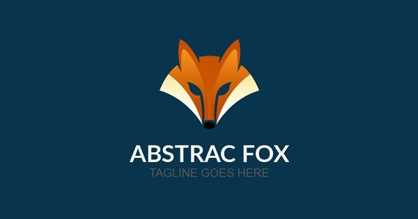 Abstrac Fox Logo template