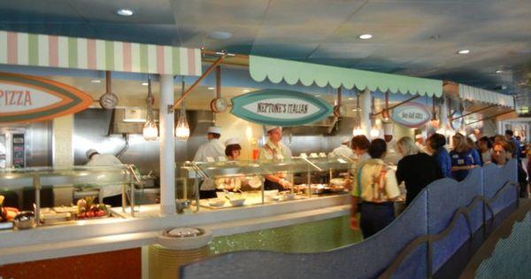 Disney Dream Part 15 - Cabanas Decor And Food