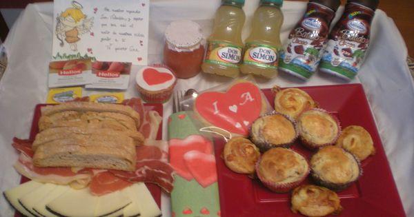 Con este desayuno sorpresa se despert su chica jam n - Desayuno sorpresa madrid ...