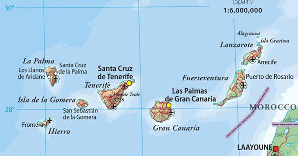The World Of Wine Review Spain Unit 9 The Canary Islands Canary Islands Lanzarote Canary