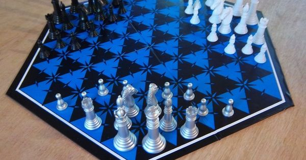 Ch3xs New Three Player Chess Chess Sets Pinterest