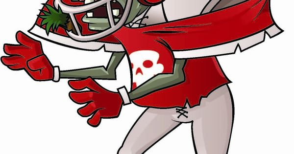 zombie football player coloring pages - photo#24
