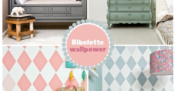 Wallpower behang voor de kinderkamer by bibelotte kinderkamer pinterest kast blauw en met - Behang hoofdeinde ...