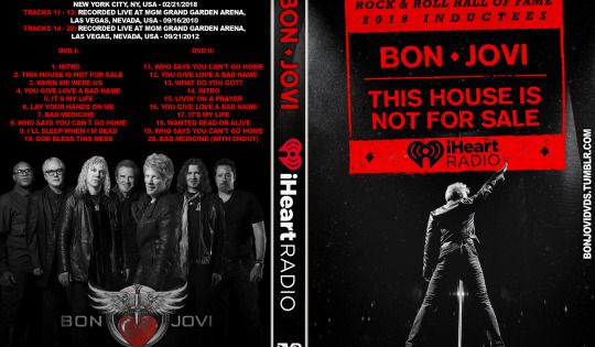 Bon Jovi Iheart Radio Collection 2018 2012 2010 2 Dvd Bon Jovi Jon Bon Jovi Radio