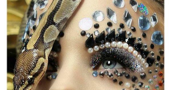 Loaiy Ramz MUA : Ania Poniatowska | Fantasy Makeup #art #beauty #glitter | See more about Fantasy Makeup, Makeup Art and Fantasy.