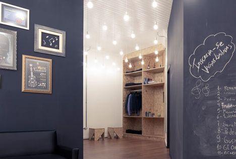 schreibt auf eure w nde und wischt es wieder weg streicht eure wand in tafelfarbe coole idee. Black Bedroom Furniture Sets. Home Design Ideas